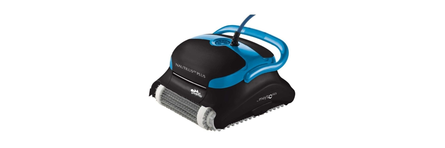 Best Robotic Pool Cleaners - Maytronics Dolphin Nautilus CC Plus Robotic Pool Cleaner